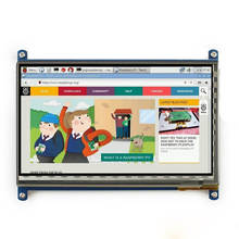 Elecrow Raspberry Pi 3 Display 7 Inch Touch Screen HDMI HD LCD TFT 1024X600 Monitor for Raspberry Pi 3 2B B Pcduino Win7 8