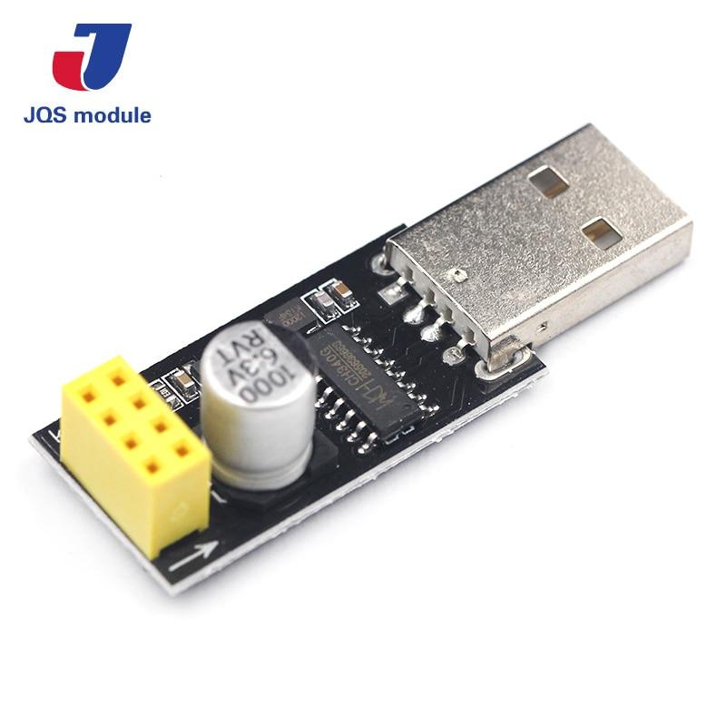ESP01 Programmer Adapter UART GPIO0 ESP-01 Adaptaterr ESP8266 CH340G USB to ESP8266 Serial Wireless Wifi Developent Board Module 10pcs lot esp8266 serial wifi wireless esp 01 adapter module 3 3v 5v compatible serial module