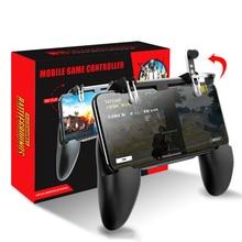 Mobile PUBG Gamepad Joystick Metal L1 R1 Trigger Game Shooter switch C