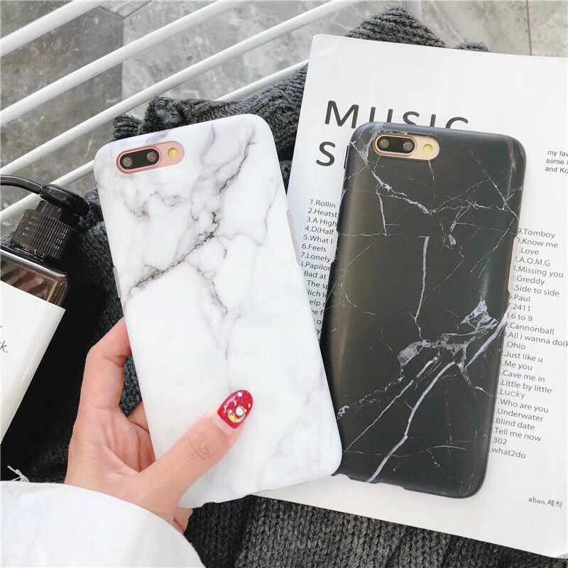 Luksusowe marmurowe etui na telefony dla iPhone 7 etui dla iphone'a x 7 6 6 S 8 Plus 6 S skrzynki pokrywa XR XS MXA Coque Silicon Fundas Capa Carcasa