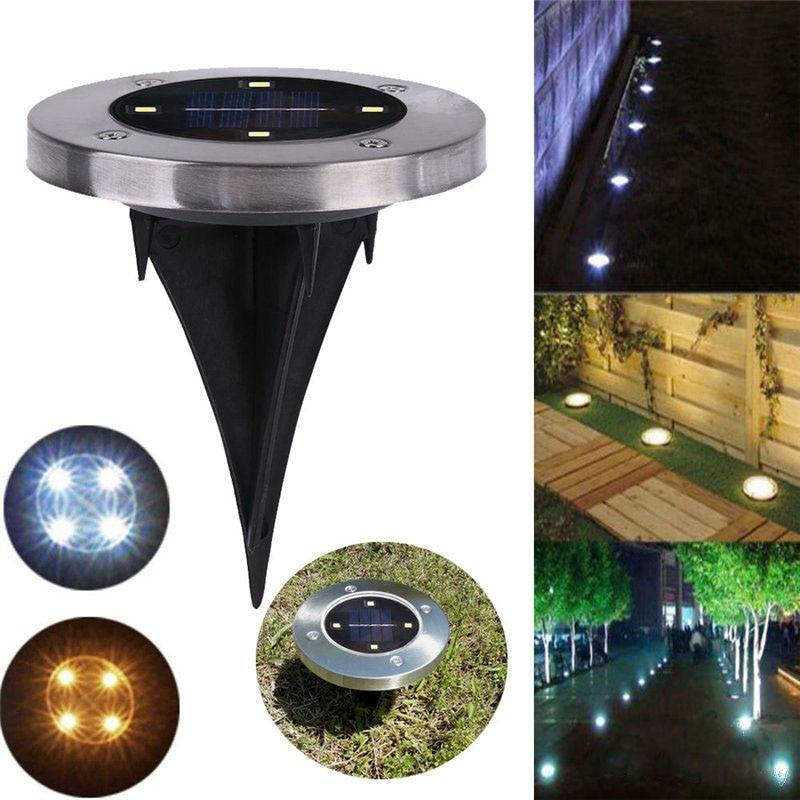Solar Garden Lights In Ground