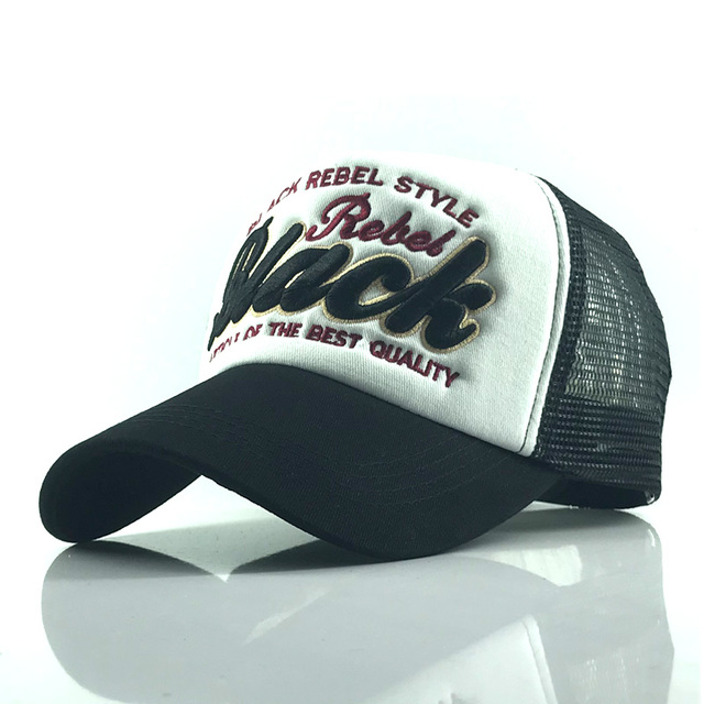 Black Black trucker hat 5c64fecf9e35b