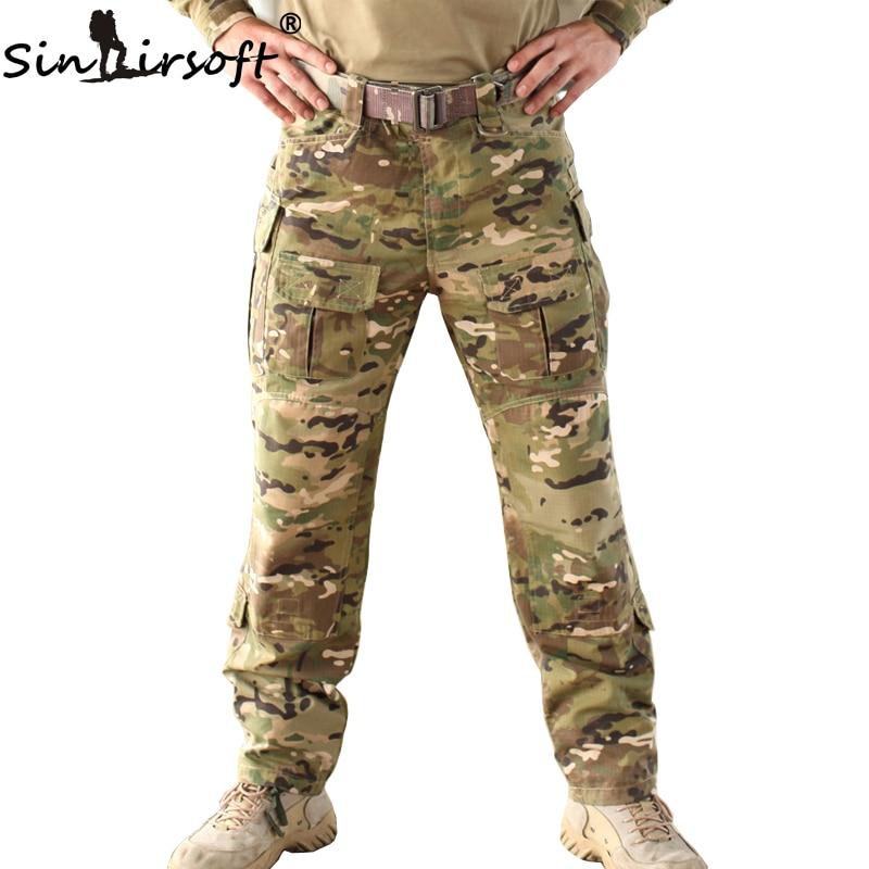 SINAIRSOFT 2017 Multicam TRU 1 4 Zip Combat Pants Multicam Arid 65 35 Poly Cotton