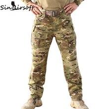 Sinairsoft 2017 мультикам tru 1/4 zip боевые брюки мультикам засушливых 65/35 поли хлопок ripstop combat брюки mca лягушка костюм брюки