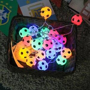 Image 4 - JSEX פיות אור עם Remot מחרוזת חג זר כדור Led אור חיצוני עץ חג המולד חתונה בית נר מזויף קישוט