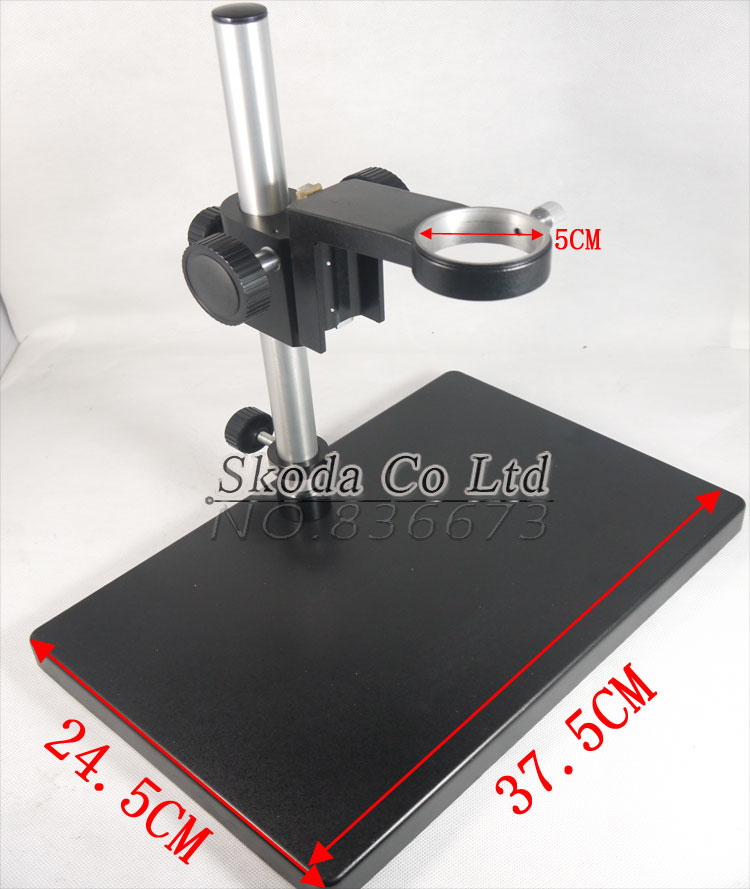 Big Size Heavy Duty Adjustable Boom Large Stereo Arm Table Stand 50mm Ring Holder For Lab Industry Microscope Camera  adjustable boom large stereo arm table stand 50mm ring holder for lab industry microscope camera