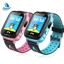 Yuanhang IP68 Водонепроницаемый Smart GPS LBS расположение Сенсорный экран SOS вызова удаленного Мониторы Камера наручные трекер детские часы