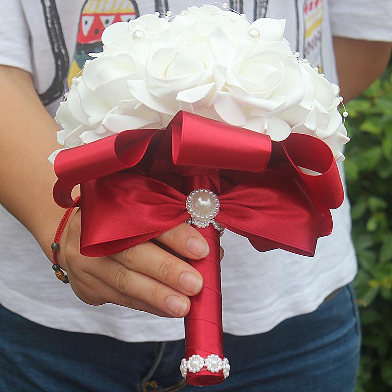 Foam Bridal Bouquet 19