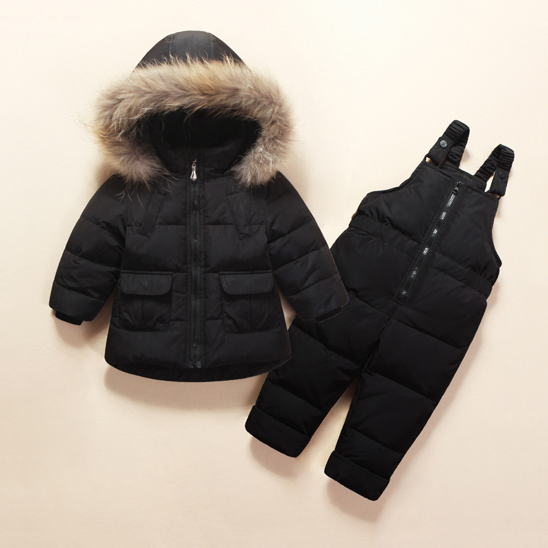 2dbc653a4 Newborn Winter Down Jacket Baby Snowsuit Infant Overcoat Kids Snow ...