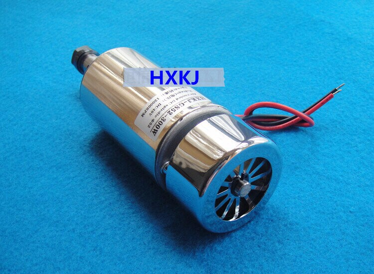 free shipping Cnc spindle motor 300w spindle motor air cooling spindle 300w DC motor Engraving Machine ER11 collets