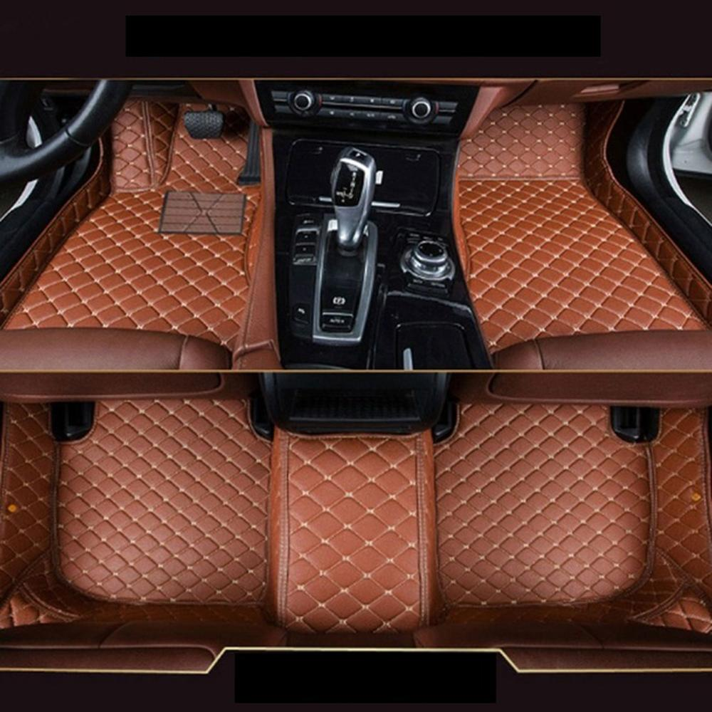 Front & Rear Car <font><b>Floor</b></font> <font><b>Mats</b></font> 3D Full Leather Carpet Custom-Fit For <font><b>Lexus</b></font> <font><b>RX350</b></font> 2010 Auto foot Pads Automobile Carpet Cover image