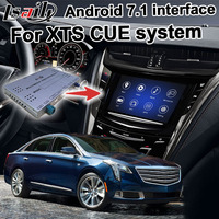 Android GPS navigation box for Cadillac XTS etc video interface mylink CUE intellilink system with wireless Carplay