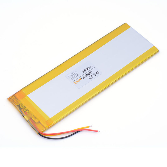 """3-wire 3248147 3.7v 3500mAh Li ion polymer rechargeable battery For 7"""" Digma Optima 7.5 3G T7025MG Irbis tx18 TX56 3G Tablet PC"""