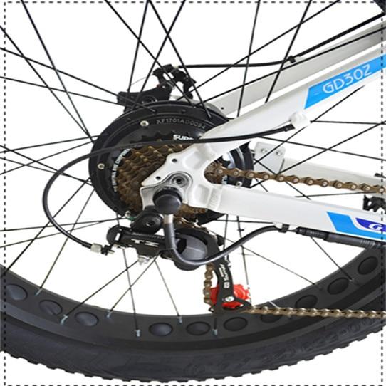 HTB1wipEhjDpK1RjSZFrq6y78VXaB - 26inch Electrical Bike Fats Tire Electrical Mountain Bicycle,350W/500W Motor,48V10.4Ah/11.6Ah Lithium Battery,Aluminium Alloy Body