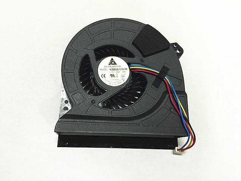 CPU COOLING COOLIG FAN  ASUS G74 G74S G74SX KSB06105HB BA82 KSB06105HB-BA82 5V 0