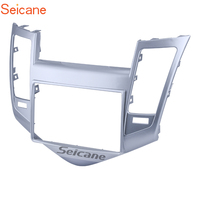 Seicane 2Din 173*98mm Car Stereo Radio Fascia Dash Bezel Surround DVD Panel Cover Trim Kit For 2009 2010 2011 Chevrolet Cruze