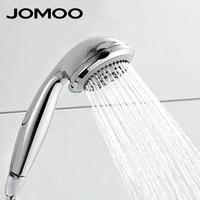 JOMOO Round Five Function Hand Hold ABS Plastic Shower Head Chrome Finish Hand Shower S02015 2C11