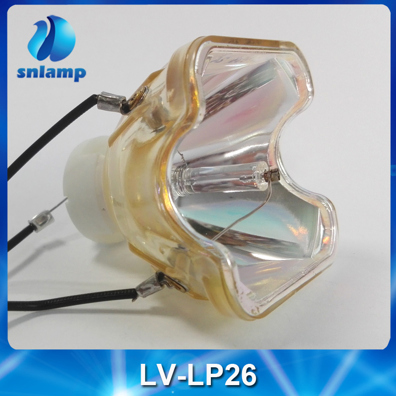 LV-LP26 Compatible Projector Lamp bulb for LV-7250 / LV-7260 / LV-7265 compatible bare bulb lv lp33 4824b001 for canon lv 7590 projector lamp bulb without housing