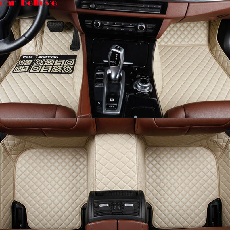 Car Believe Auto car floor Foot mat For honda accord 2003-2007 crv 2008 cr-v jazz fit city civic 2008 car accessories styling