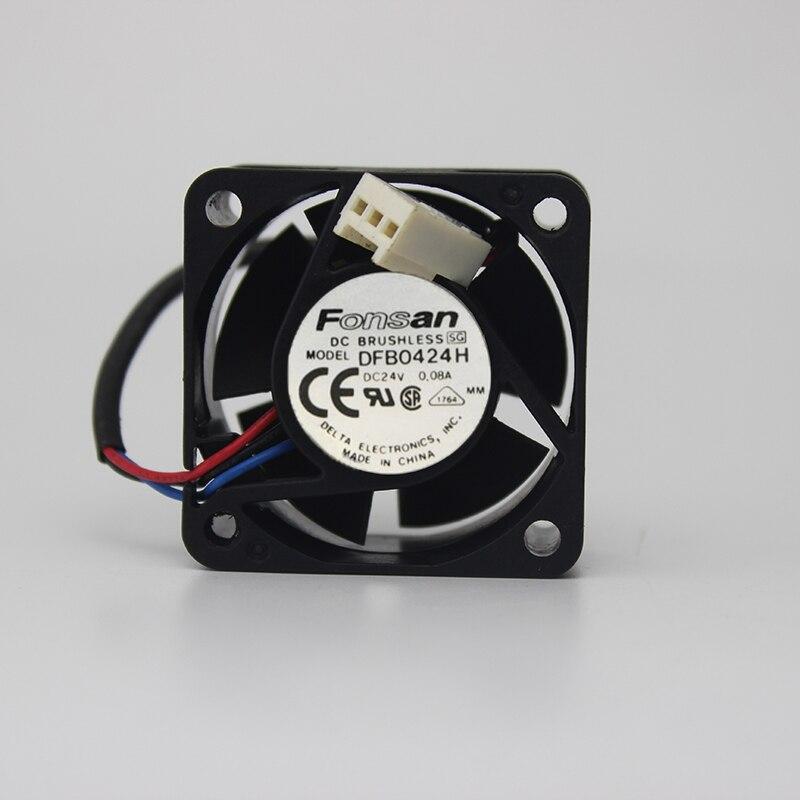 4020 4 см DC24V 0.08a dfb0424h преобразования частоты промышленный компьютер Вентилятор охлаждения