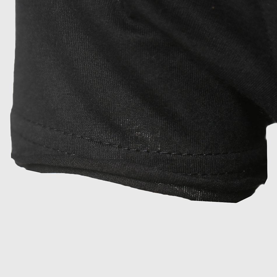 Zecmos Longline T-Shirt Med V Neck Herre Lang Line T-shirts Til Herre - Herretøj - Foto 5