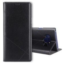 FDCWTS Flip Cover Leder Brieftasche Telefon Fall für Samsung Galaxy Note 9 SM N960 N960F SM N960 SM N960F Sansung Samsumg Samsun