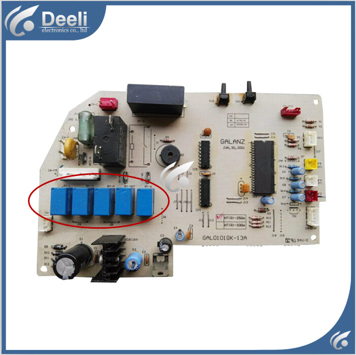 95% new USED good working for Air conditioning PC board KFR-33GW GAL0101GK-13A pc board air conditioning accessories board 0010400526 used disassemble