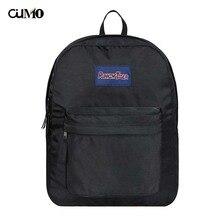Ou Mo brand Solid Color schoolbag backpack Women school Bag waterproof  teenagers man computer feminina Backpack laptop