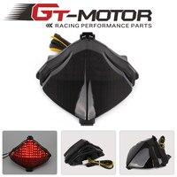 Silnik GT-Motocykl PROWADZIŁ Światło Lampy Tylne Kierunkowskaz Tail Stop Zintegrowany Dla Yamaha YZF-R1 YZF R1 04-06