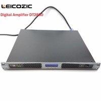 Leicozic DT2850 Stage power amplifier 1400W x2 digital power amplifier high power amplifiers class d amplifier 1U Rack Mount Amp