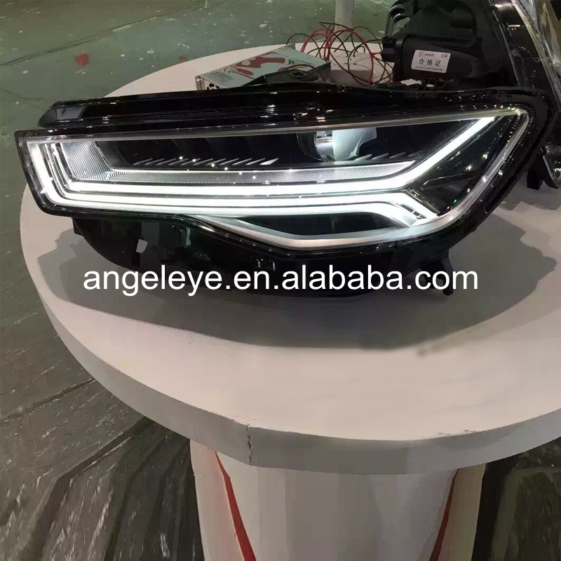 LED Head Light For Audi A6 A6L LED head lamp 2015 2016 year