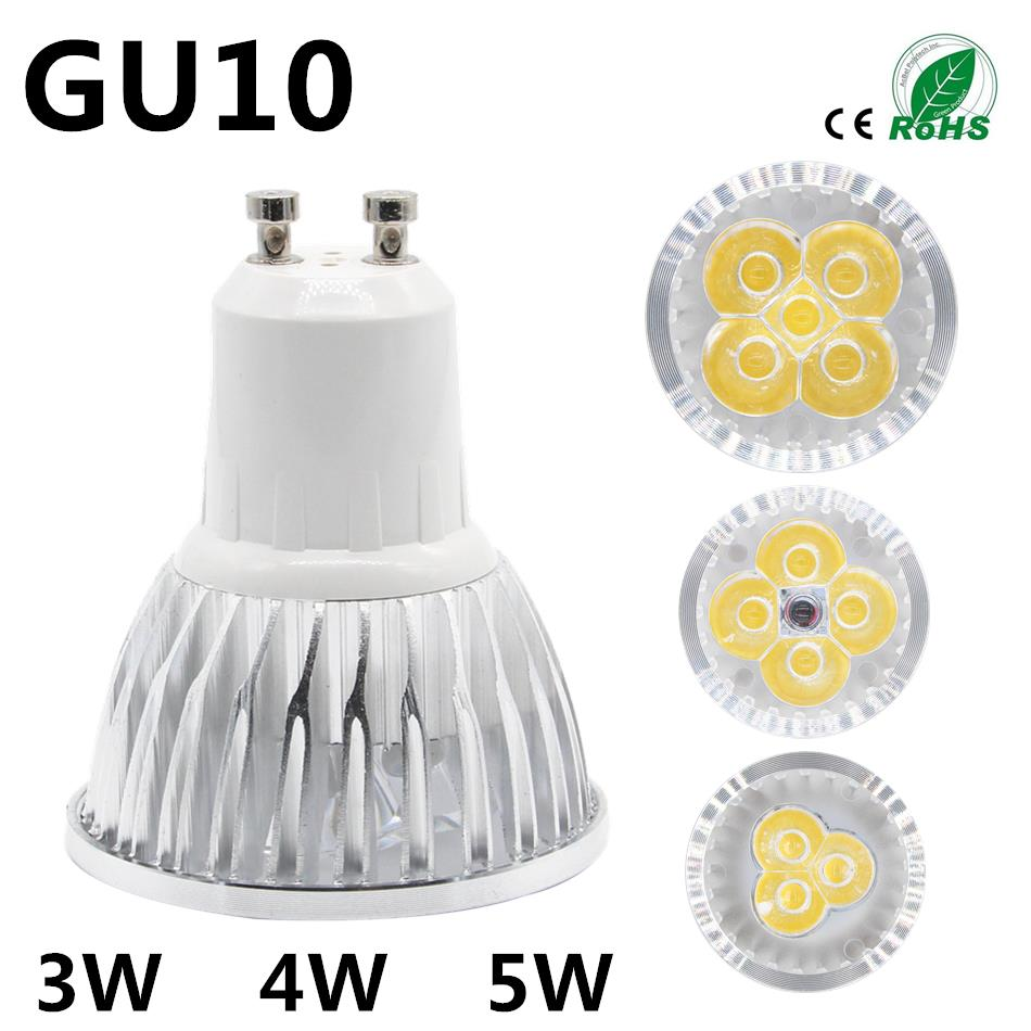 10 stks lampada led spotlight gu10 110 v 220 v lampara led lampen 10 stks lampada led spotlight gu10 110 v 220 v lampara led lampen gu53 focoe bombillas led lamp gu 10 3 w 4 w 5 w lampe spot licht luz in 10 parisarafo Image collections