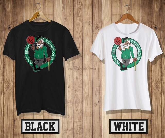 huge selection of ab7a5 a04c9 US $12.99 |UNCLE DREW CELTICS MASH UP DONT REACH YOUNGBLOOD T shirt  BlackWhite Cool tee 3-in T-Shirts from Men's Clothing on Aliexpress.com |  Alibaba ...