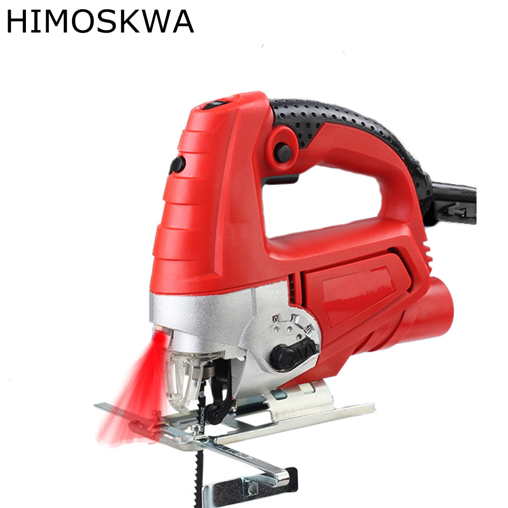 HIMOSKWA Jig Saw electric saw woodworking power tools multifunction chainsaw hand saws cutting machine woodworking tool