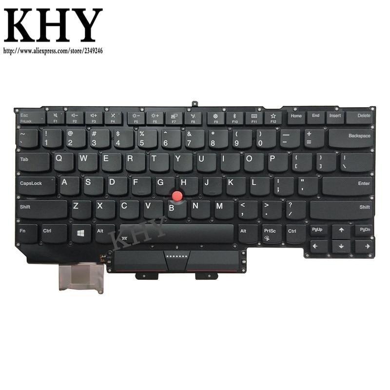 original US USI IND Keyboard backlight For Thinkpad X1 Carbon Gen 5 20K3 20K4 2017 P