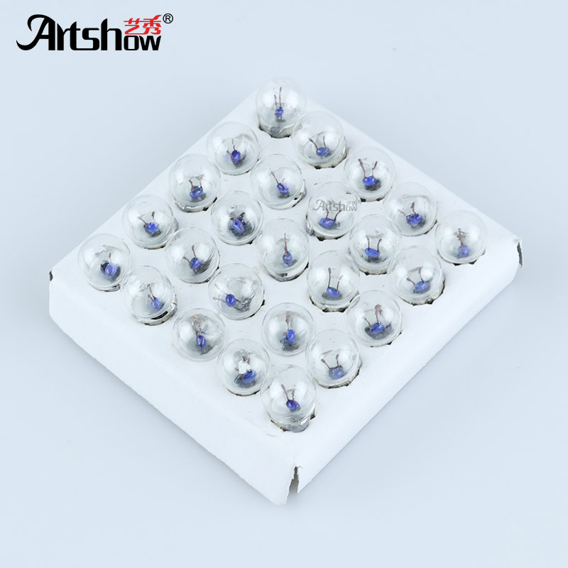 50 pcs 1.5 V/2.5 V/3.8 V/4.8 V/6 V 0.3A Experimental lâmpada equipamento de teste do circuito científico lâmpada pequena lâmpada Com Rosca