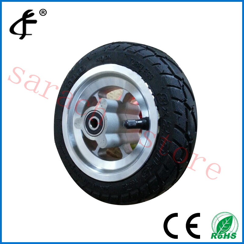 8 disc brake front electric wheel , electric scooter wheel , skateboard wheels new electric unicycle scooter 500w motorcycle hoverboard one wheel scooter skateboard monowheel electric bicycle big wheel