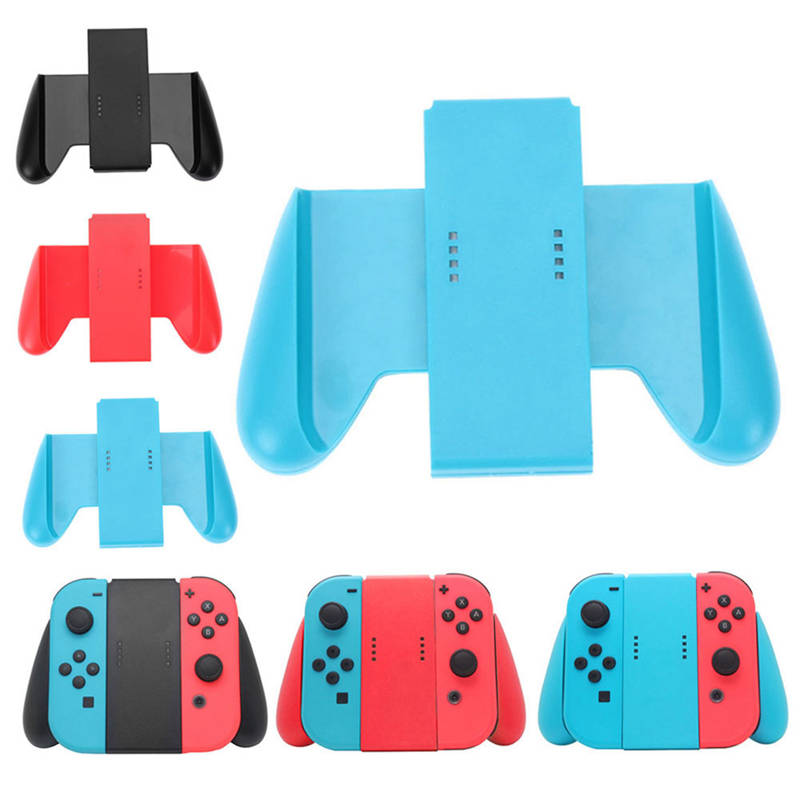 Comfort Grip Handle Hand Bracket Support Holder Charger For Nintendo Nintend Switch NS 2 Joy-Con Grip Handle Bracket Holder