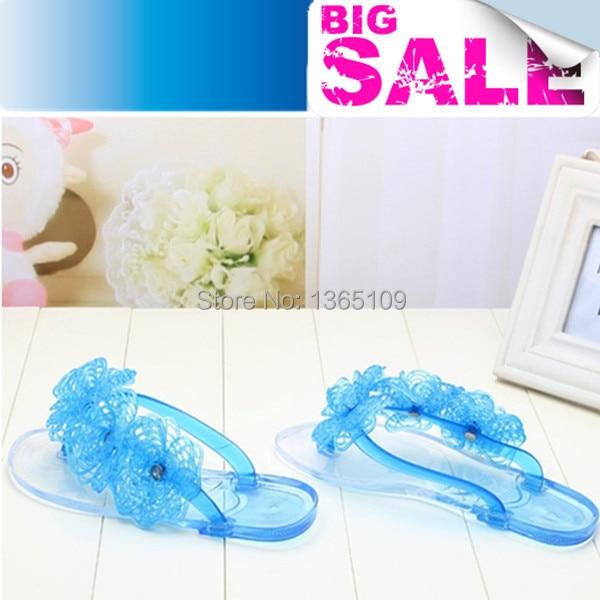 820da325a35f46 women summer melissa jelly homme flat shoes ladies thong sandals designer flip  flops sandalias flower beach slippers hot 2015-in Women s Sandals from Shoes  ...