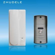 ZHUDELE ZD-3208C 2-Way Интерком Домашний домофон аудио дверной звонок, 2-проводной аудио домофон Функция разблокировки
