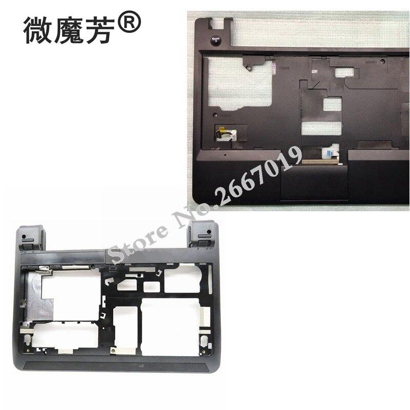 New Laptop Bottom Base Case Cover for Lenovo for Edge E130 E135 E145 D shell Palmrest Keyboard Bezel Upper Case new case cover for lenovo g500s g505s laptop bottom case base cover ap0yb000h00
