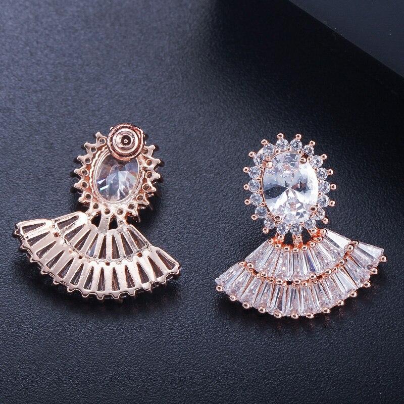 fan stud earrings4