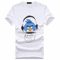 Angry Birds T Shirt Men S New Short Sleeve Trendy Men S Slim Shirt Print Half