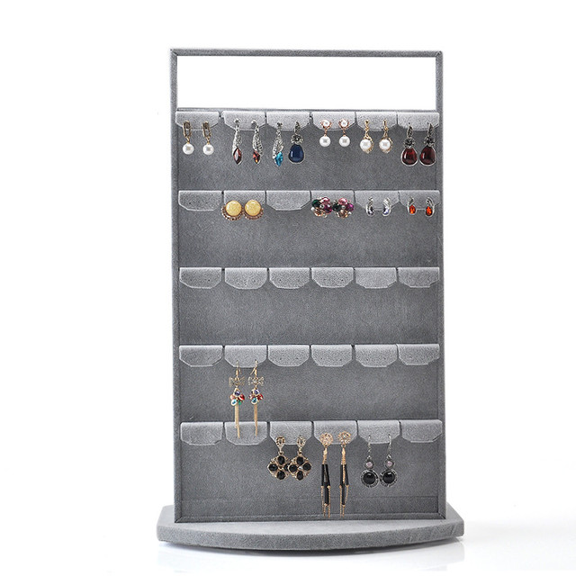 New Fashion Earrings Display Holder Rotate Earrings Display Stand Jewelry Display Holder