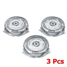 3Pcs Replacement Shaver Blades Head for Philips SH50/51/52 Series 5000 HQ8 S5110 Shaving Heads Cutters  Razor Blade