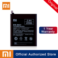 Xiao Mi 100% Original BM37 For Xiaomi Mi 5s Plus Replacement Battery 3800mAh Real Capacity Rechargeable Phone Batteria Akku qrxpower original bm37 replacement battery for xiaomi mi 5s plus real capacity 3800mah li ion phone battery tools sticker