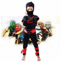 Boys Clothes Sets Ninjago Cosplay Costumes Children Clothing Sets Halloween Christmas Party Clothes Ninja Superhero Suits