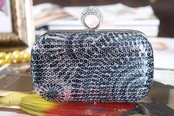Дизайнерские Сумочки высокого качества в стиле ретро с блестками для свадьбы/особых случаев вечерние сумочки/clutchs (больше цветов)