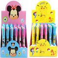 Retial poke   mon go &tsum Mickey Minnie cartoon 4 colors ball point pen student stationery 14.5cm 20160908 20160914