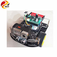 Official DOIT Free Shpping Android WiFi Car Wireless Video Remote Monitoring Robot Including Avoid Obstacles Function
